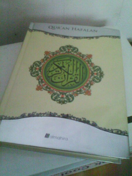 Al Mahira. Salah satu cetakan mushaf usmani.