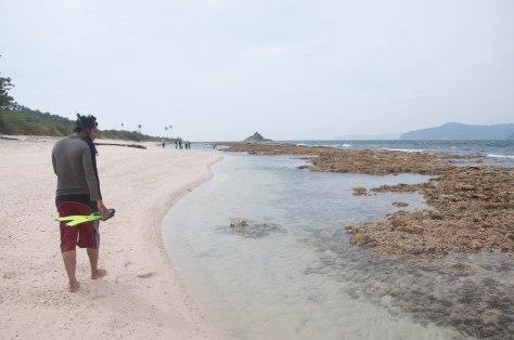 Mencari posisi snorkling sendiri