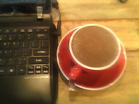 Hot Chocolate, selalu jadi teman ketika menulis.